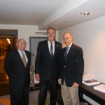 Alan Plotkin and Dr. Niedrach with Senator James
