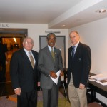 Alan Plotkin and Dr. Niedrach with Senator Ron Rice