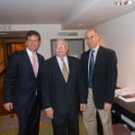 Alan Plotkin and Dr. Niedrach with Senate Republican Leader Tom Kean Jr.
