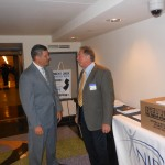 Assembly Majority Leader Lou Greenwald and NJPCAC President and Chairman Dr. David Taylor