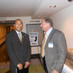 Assembly Regulatory Oversight Committee Chairman Rueben Ramos and NJPCAC President and Chairman Dr. David Taylor
