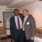 Assembly Health Committee Chairman Dr. Herb Conaway and NJPCAC President and Chairman Dr. David Taylor